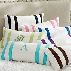 Suite Ribbon Lumbar Pillow Cover #potterybarnteen