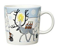 Arabia Moomin mug Winter Forest, Tove Slotte Finland Marimekko, Winter Forest, Tom Dixon Beat, Moomin Mugs, Tove Jansson, Scandinavian Interior Design, Scandinavian Style, Scandinavian Christmas, China Dinnerware