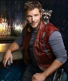 Entertainment Weekly feat. Chris Pratt as legendary outlaw/Guardian of the Galaxy Star-Lord