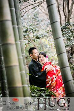 [攝影機構] HUG! Photo and Film Works 橫濱 橫濱日式庭園 和服