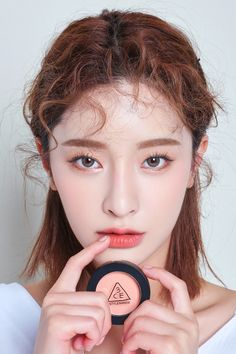 Korean Natural Eyebrow Tutorial by Liah Yoo - Korean Makeup Korean Makeup Look, Korean Makeup Tips, Korean Makeup Tutorials, Asian Makeup, Make Up Looks, Simple Makeup, Natural Makeup, Stylenanda Makeup, Peach Makeup