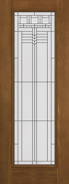 Jeld Wen W04h Custom Wood Glass Panel Interior Door From