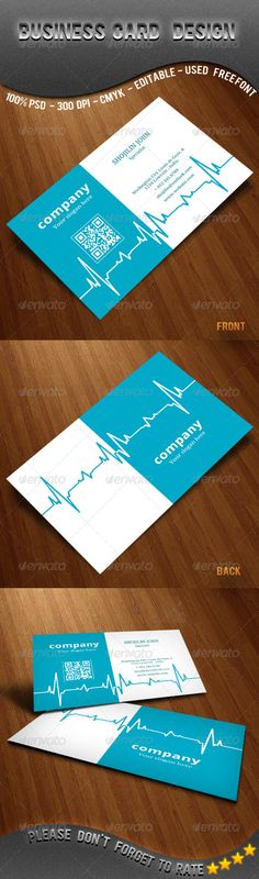 Doctors Medical Business Card