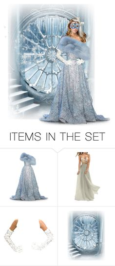 """""""Ice Princess masquerade"""" by shelley-harcar ❤ liked on Polyvore featuring art"""