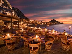 Immerse yourself in Los Cabos' iconic desert-meets-sea landscape at this seafood-centric restaurant, which can be found in the cliffside The Resort at Pedregal. Dine al fresco under starry skies as ocean waves crash at your feet, choosing from an ever-changing selection of fresh catch from the restaurant's old-fashioned fish market