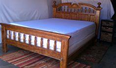 bed frames on pinterest oak bed frame comforter sets and solid oak. Black Bedroom Furniture Sets. Home Design Ideas