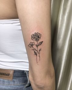 20 Sleeve rose tattoo ideas for women