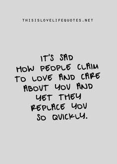 it was never true love
