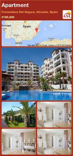 Apartment in Formentera Del Segura, Alicante, Spain ►€195,000 #PropertyForSaleInSpain