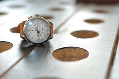 A timeless chronograph on leather strap from Ernst Benz.