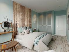 Фото: Дизайн интерьера спальни - Интерьер квартиры в скандинавском стиле с элементами лофта, ЖК «Skandi Klabb»