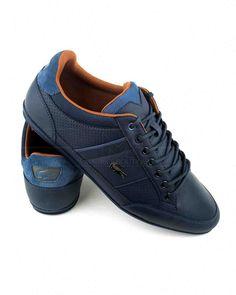 96c8bf1de Zapatillas LACOSTE ® Azul Marino ✶ Chaymon