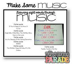 The First Grade Parade: Sight Words!!! (Assessment, Activities, Ideas, & FREEBIES!)