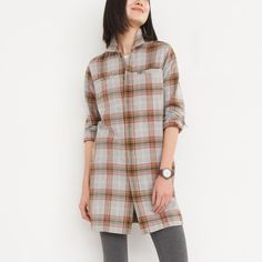 Womens Penny Shirt Tunic | Womens Shirts | Roots
