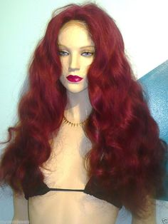 Glueless Silk Top 100% Human Hair Indian Remi Remy Full Lace Wig Wigs #200 #Unbranded #FullWigLaceWig