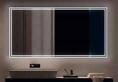 IKEA-Hack: IKEA Spiegel mit eigener LED Stripe Installation. Ab ...