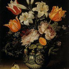 The Athenaeum - Vase with Flowers (Jan Brueghel the Elder - ) Renaissance, 17th Century Art, Dutch Painters, Still Life Art, Vanitas, Old Master, Floral Bouquets, Boutique, Love Flowers