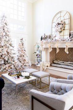 Flocked Christmas ideas