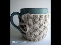 How to knit a Smocked Mug (+ seznam predvajanja)