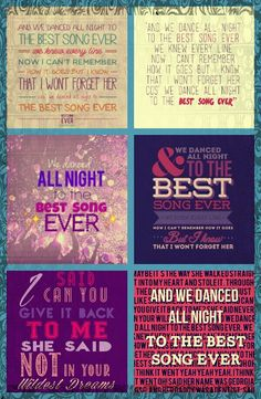 best song ever lyrics edit comment what you think!!!!!