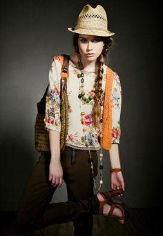 fashion vogue beauty glamour chic: Fashion Lesson. BOHEMIAN STYLE AND FASHION