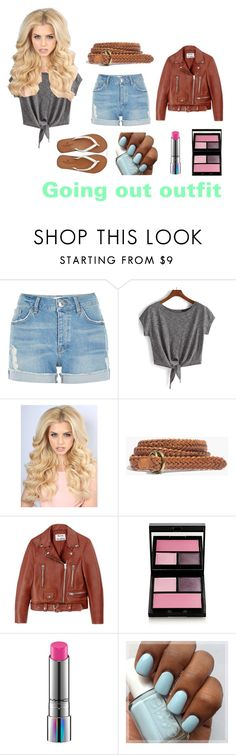 """""""Going out"""" by sykesc-1 ❤ liked on Polyvore featuring River Island, WithChic, Madewell, Acne Studios, Surratt, MAC Cosmetics and American Eagle Outfitters"""