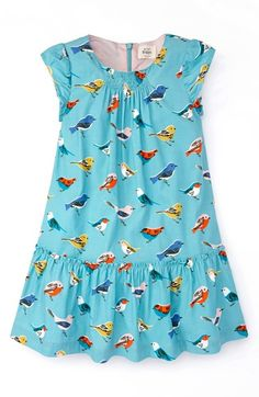 Mini Boden Pretty Printed Dress (Toddler Girls, Little Girls & Big Girls) available at #Nordstrom