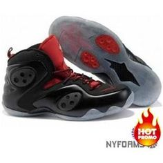 bb9df8bdbf64 Nike Zoom Rookie Black Red White Nike Air Max For Women