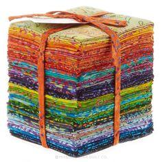 Calypso Batiks Fat Quarter Bundle - Moda Fabrics - Moda Fabrics