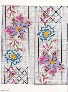Gallery.ru / Фото #17 - KWIATY 2 - aaadelayda   pattern flowers & lattice