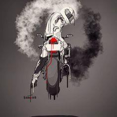 Motorcycle Art by Hamerred49 65