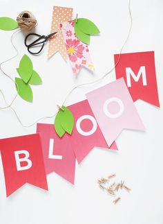 Hello spring eos lip balm gift card via pagingsupermom eos all free printable bloom banner for spring put it up for easter but leave it up negle Gallery