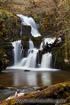 Lower Cilhepste Falls, Brecon Beacons National Park