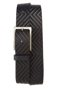 Free shipping and returns on BOSS Turi Leather Belt at Nordstrom.com. An eye-catching embossed texture marks a bold Italian belt crafted from premium leather and fitted with a brushed buckle for a bit of shine.