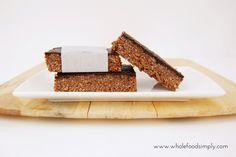 Mix and Make Choc Mint Slice | fastPaleo Primal and Paleo Diet Recipes