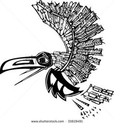 pacific northwest indian raven - Google Search