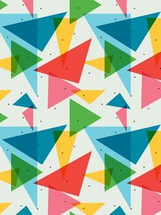 simple geometric patterns - Google Search