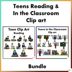 Teen Reading and In the Classroom Clip Art Bundle Reading Resources, Reading Strategies, School Resources, Classroom Resources, Teacher Resources, Teaching Ideas, Classroom Ideas, Behavior Management Strategies, Classroom Management