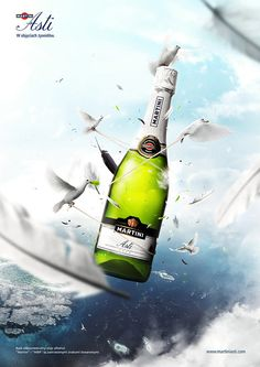 Martini Asti - Elements by Peter Jaworowski, via Behance