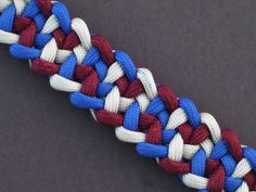 How to Make the Jagged Cacophony Bar (Paracord) Bracelet by TIAT