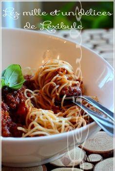 Spaghetti Noodles, Spaghetti Sauce, Mets, Nom Nom, Pizza, Favorite Recipes, Cooking, Ethnic Recipes, Desserts