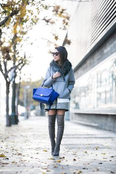 Blue Day :: Cozy sweatshirt
