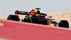 F1: Daniel Ricciardo fastest for Red Bull in Bahrain    Red Bull's Daniel Ricciardo beats Mercedes and Ferrari to set the fastest time in first practice at the Bahrain Grand Prix.   http://www.bbc.co.uk/sport/formula1/43671436