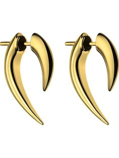 Shop Shaun Leane 'Tusk' earrings in Hervia Bazaar from the world's best independent boutiques at farfetch.com. Shop 300 boutiques at one address.