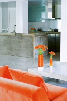 Un appartement en béton dépourvu de tout artifice - Marie Claire Maison