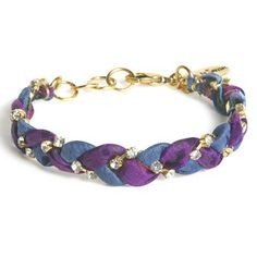 Vintage Sari Bracelet Royal Blue now featured on Fab.
