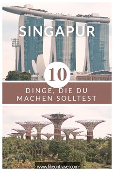 Singapur Sehenswürdigkeiten – 10 Dinge, die du machen solltest Let's go with our Singapore travel tips! We give you 10 ultimate things that you should definitely plan in this special city-state. # travel tips … Singapore Travel Tips, Europe Travel Tips, Asia Travel, Marina Bay Sands, Singapore Attractions, Tokyo Japan Travel, Les Continents, Africa Destinations, Holidays Around The World
