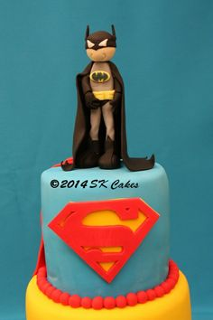 Superhero Cake. http://www.facebook.com/skcakes1
