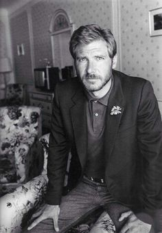 A young Harrison Ford.