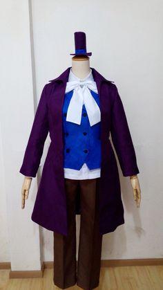 Axis Powers Hetalia Arthur Kirkland Clothing APH United Kingdom England Britain Spades Poker Cosplay Costume #Affiliate